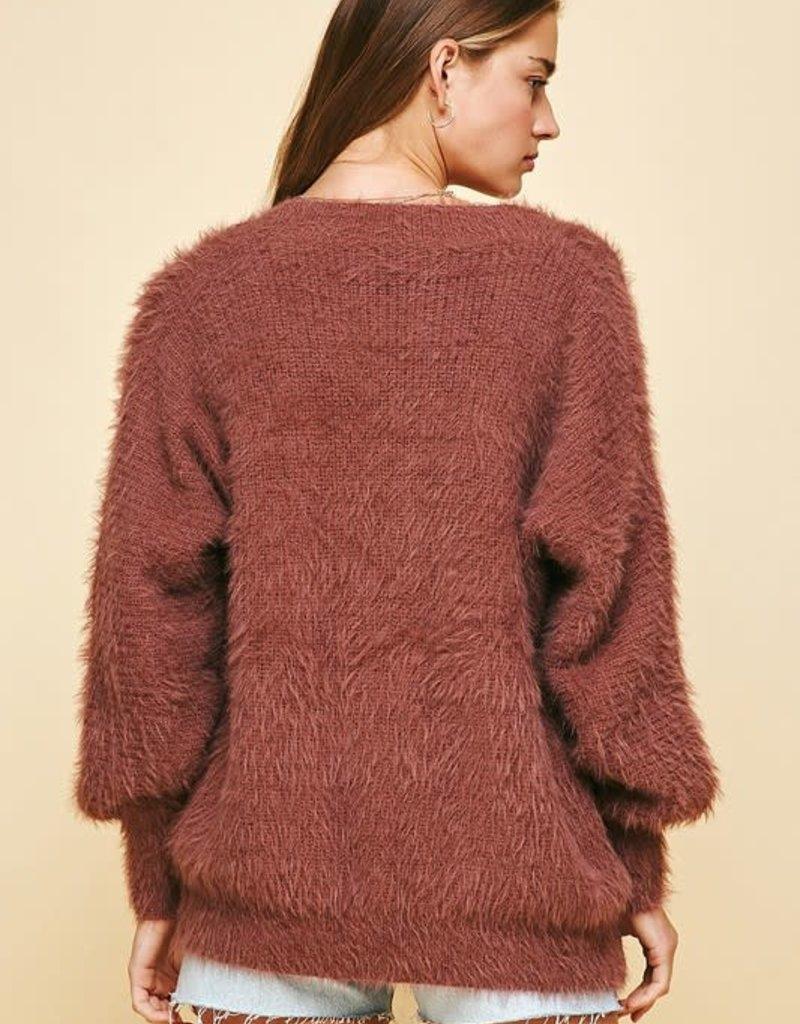 pinch soft knit cardigan