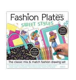 fashion plates design set - sweet styles