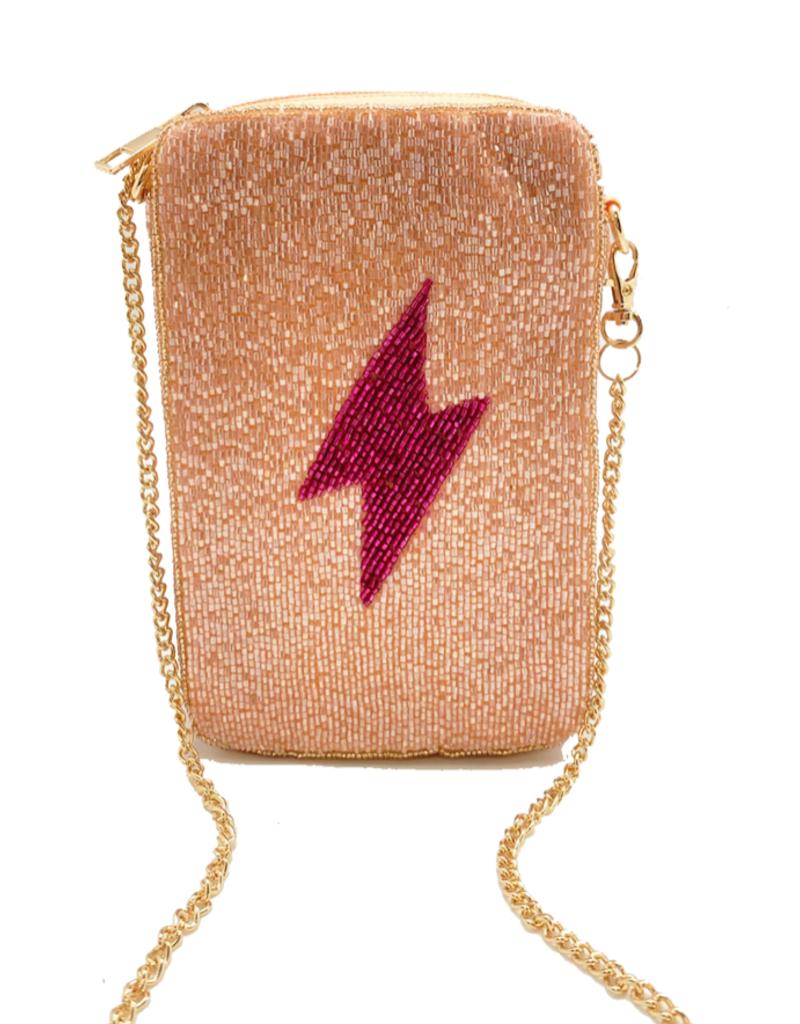 lightning bolt phone bag