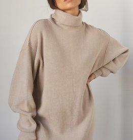 crescent nadin turtleneck sweater dress