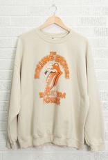 LivyLu rolling stones rock em pokes thrifted sweatshirt