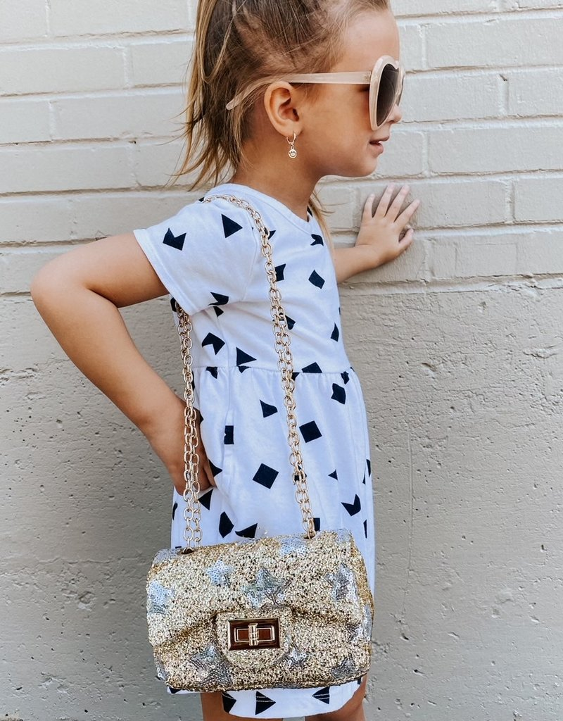 posh international kids gold star bag