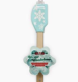 winter wonderland spatula & cookie cutter set