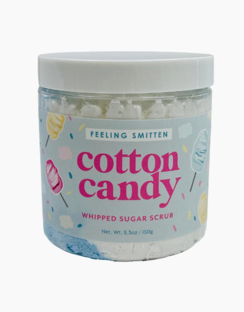 feeling smitten cotton candy whipped sugar scrub