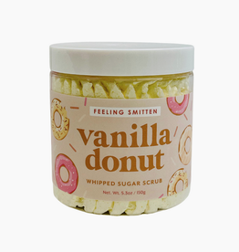feeling smitten vanilla donut whipped sugar scrub