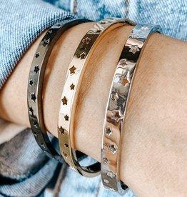 omg blings star studded bracelet