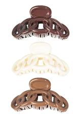 spirals hair clip set of 3