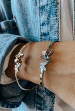 omg blings butterfly pearl bracelet