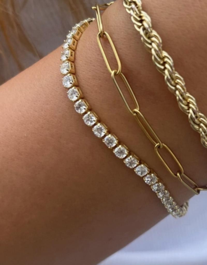 nikki smith designs shimmer tennis bracelet