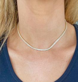 nikki smith designs stella tennis necklace