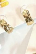 nikki smith designs golden hoops