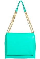 tiffany double strap bag - green