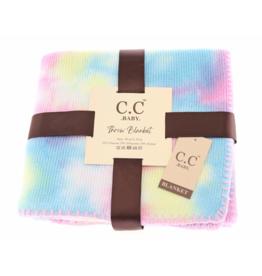 cheveux corp baby tie dye stroller blanket