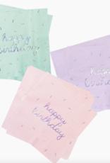 harlow & grey sprinkles birthday napkin set