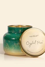 capri blue crystal pine glimmer jar 19oz