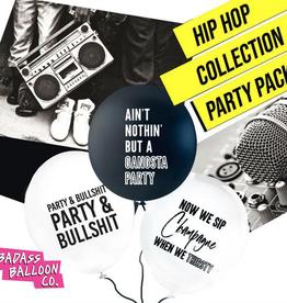 Badass Balloon Co. hip hop balloon set of 12