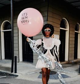 Badass Balloon Co. let's party b*tches jumbo balloon with tassel