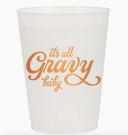 it's all gravy baby cup stack 10