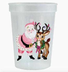 pink santa cup stack 6