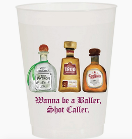 wanna be a baller cup stack 10