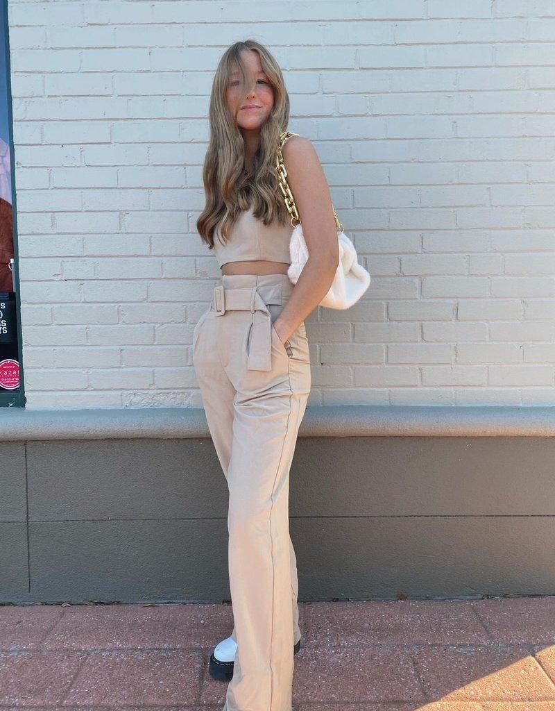 crescent alena coulotte trouser 2 piece set