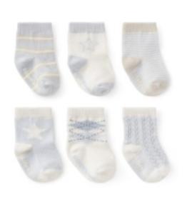 clasic blues sock set