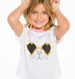 chaser cat sunnies vintage jersey tee