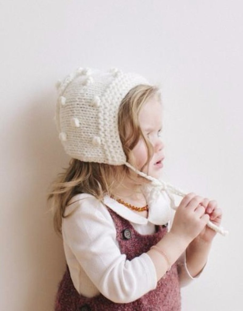 916e9bb1fb6 The Blueberry Hill coco bobble bonnet - Stash Apparel and Gifts