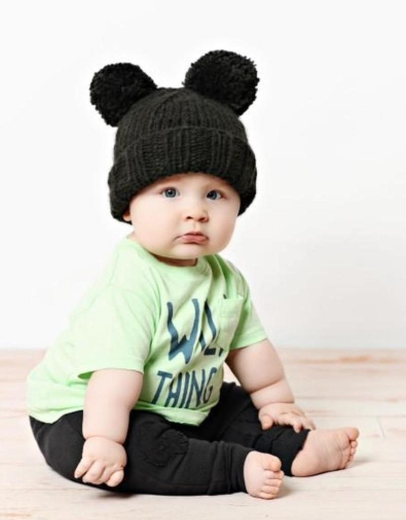 The Blueberry Hill paxton pom pom knit hat