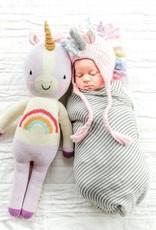 The Blueberry Hill ella unicorn knit hat