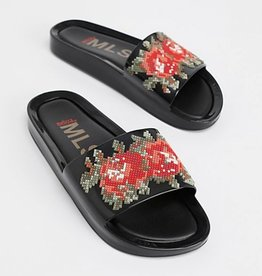 melissa flower beach slide FINAL SALE