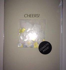 confetti card: cheers