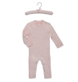 baby cable knit jumpsuit