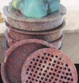 soaprocks round soapstone dish