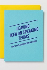 leaving ikea on speaking terms card