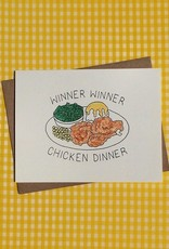 chicken dinner card