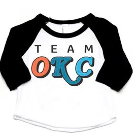 LivyLu kids team okc baseball tee FINAL SALE