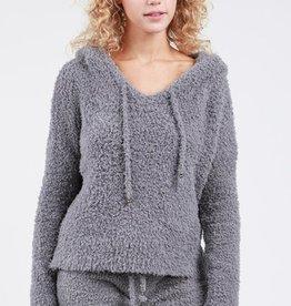 berber fleece hoodie