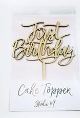 first birthday cake topper