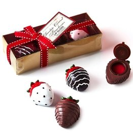 two's company strawberry chocolate lipgloss FINAL SALE