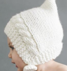 The Blueberry Hill greta pixie knit bonnet