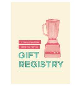 Calypso cards gift registry