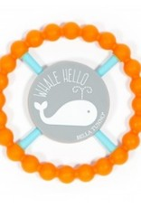 Bella Tunno happy teether - whale hello