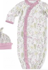 Magnificent Baby my little garden magnetic modal gown and hat set