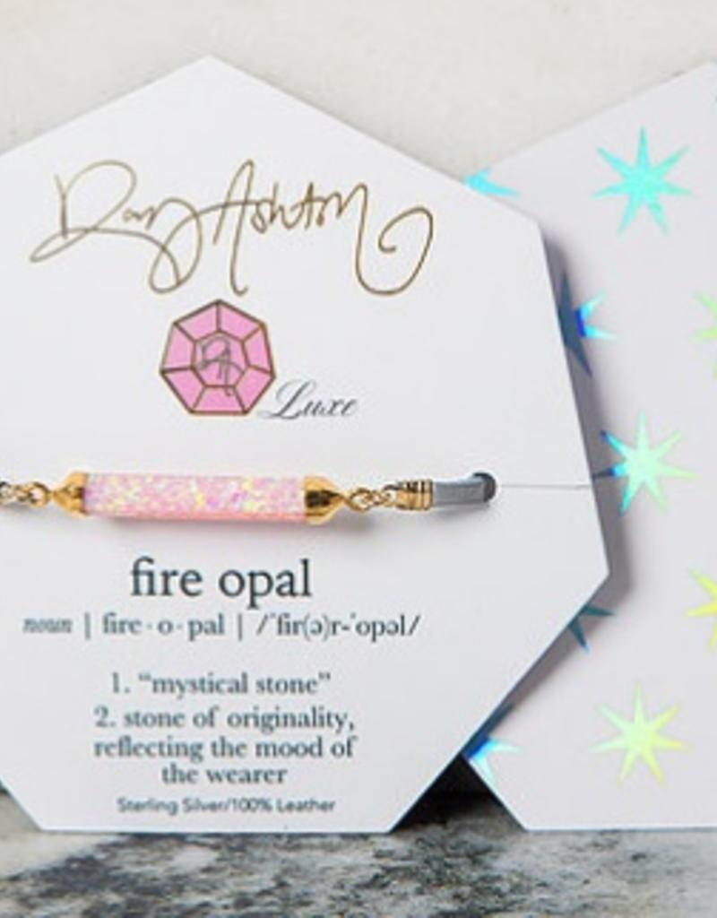 rory ashton baby pink luxe fire opal choker