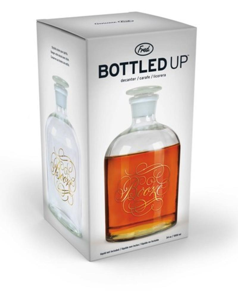 booze bottled up decanter