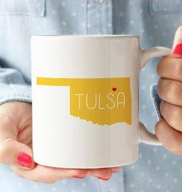 tulsa love mug