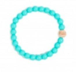 Bella Tunno turquoise teething bracelet