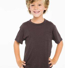 short sleeve basic tee w/ pocket