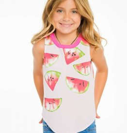 chaser watermelon vintage jersey tank